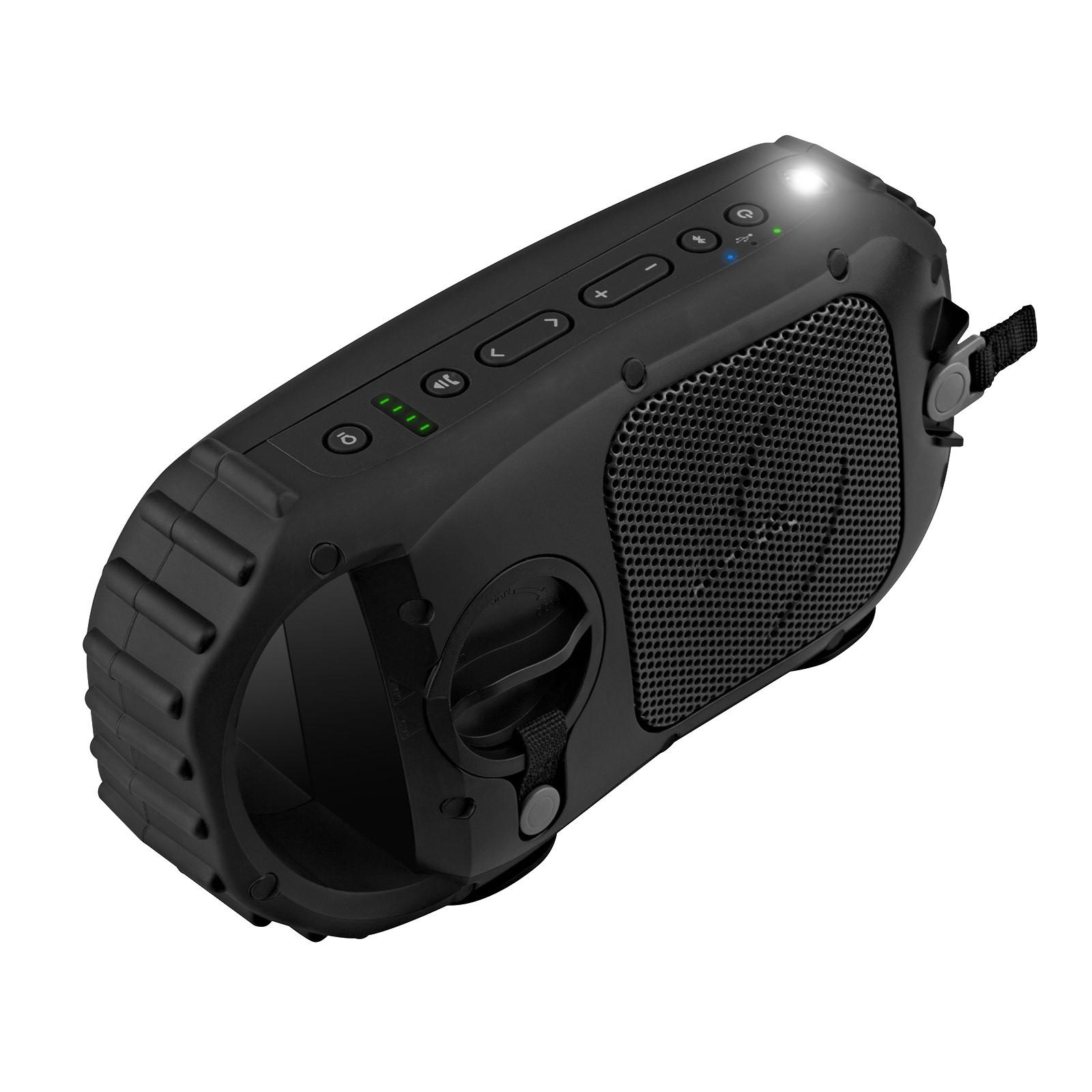 EcoXGear EcoStone Portable IPX68-Certified Waterproof Wireless Bluetooth Speaker